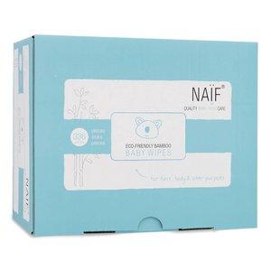 Naif Naif Eco Friendly Bamboo Baby Wipes six pack 6 stuk