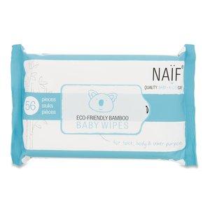 Naif Naif Eco Friendly Bamboo Baby Wipes single pack 1 stuk