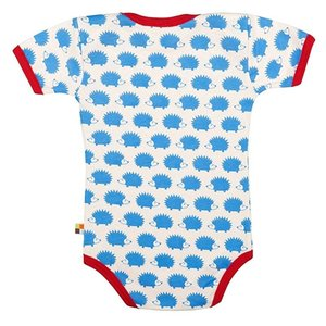 Loud and Proud Loud and Proud romper Egel korte mouw blauw
