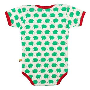 Loud and Proud Loud and Proud romper Egel korte mouw groen