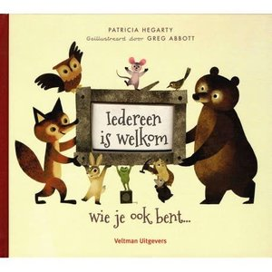 Iedereen is welkom. Patricia Hegarty
