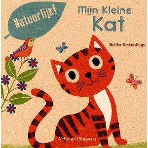 Veltman Mijn Kleine kat. Britta Teckentrup 100% gerecycled papier en gedrukt met eco-inkt