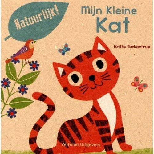 Mijn Kleine kat. Britta Teckentrup 100% gerecycled papier en gedrukt met eco-inkt