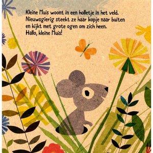 Veltman Mijn Kleine muis. Britta Teckentrup 100% gerecycled papier en gedrukt met eco-inkt