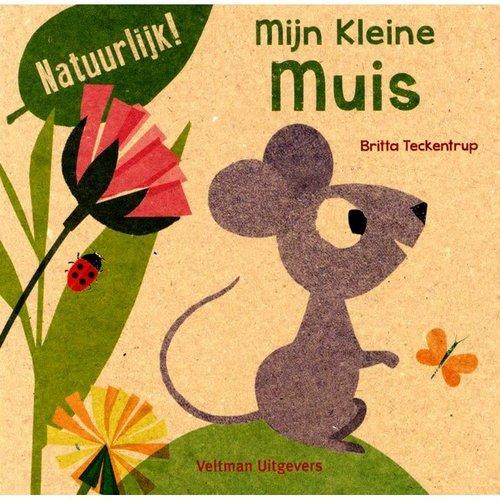 Mijn Kleine muis. Britta Teckentrup 100% gerecycled papier en gedrukt met eco-inkt
