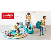 Play & Go Play & Go Speelkleed Blue Diamonds