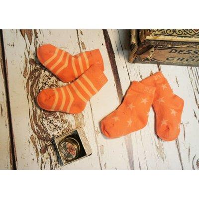 Blade & Rose Copy of Blade & Rose sokjes Orange stripe/star