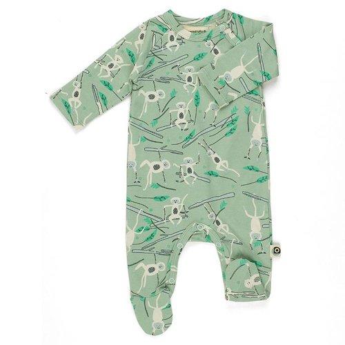 Onnolulu Pyjama met voetjes Monkey