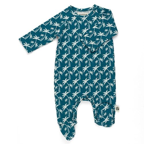 Onnolulu Pyjama met voetjes Palms