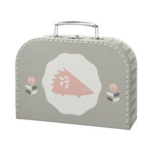 Fresk Fresk koffertje Hedgehog 24 x 18 x 8 cm