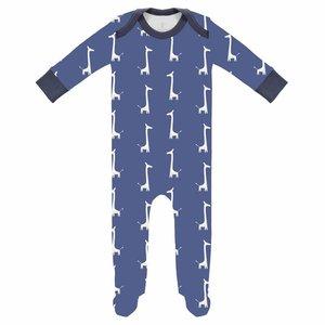 Fresk Fresk pyjama met voetjes Giraf Indigo Blue