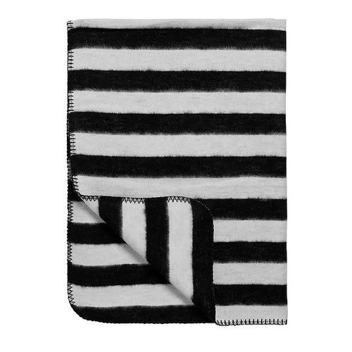 Meyco deken biologisch katoen Stripe  120 x 150 cm [ledikantdeken]