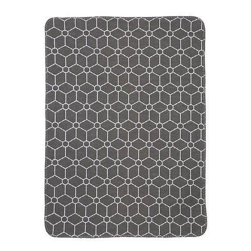 Meyco deken biologisch katoen Honeycomb jeans 120 x 150 cm [ledikantdeken]