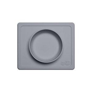 EZPZ EZPZ Mini bowl Placemat & bowl in one Grey/ Donkergrijs