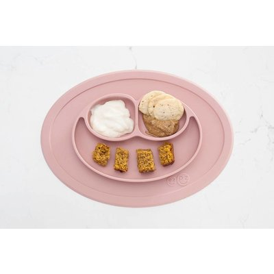 EZPZ EZPZ Mini mat Placemat & plate in one Blush/ Roze