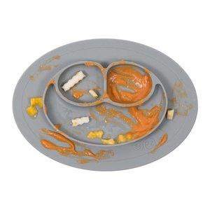 EZPZ EZPZ Mini mat Placemat & plate in one Grey/ Donkergrijs
