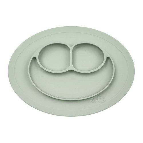 EZPZ EZPZ Mini mat Placemat & plate in one Sage/ groen