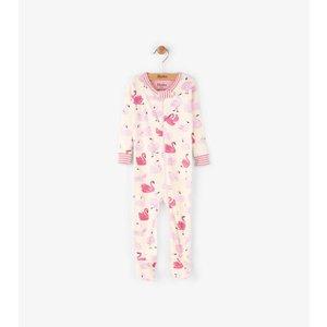Hatley Hatley Dancing swans Pyjama zonder voet