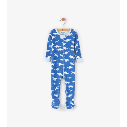 Hatley Dinosaur Menagerie Pyjama met voet