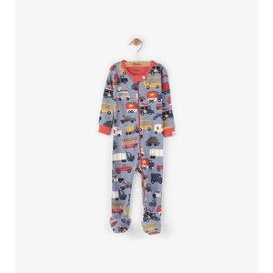 Hatley Rush Hour Pyjama met voet