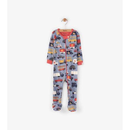 Hatley Hatley Rush Hour Pyjama zonder voet
