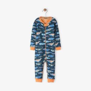Hatley Hatley Whale Pod Pyjama zonder voet