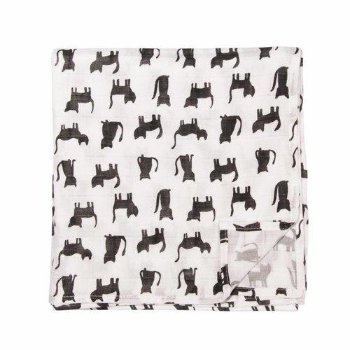 Trixie Trixie Hydrofieldoeken 110x110 cm  Black Cats