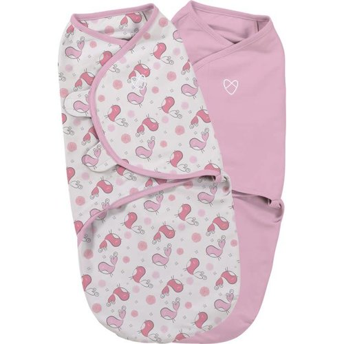 SwaddleMe 2-pack Tweet tweet small (0-3 maanden)
