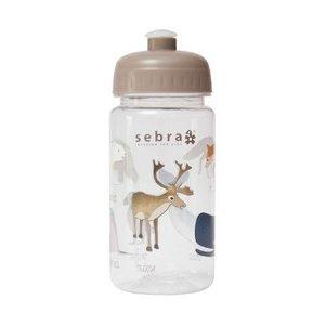 Sebra Sebra Drinkfles arctic animals met sportdop 500ml