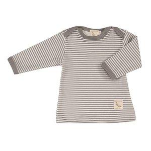 Pigeon Pigeon Shirt Grey Stripe lange mouwen