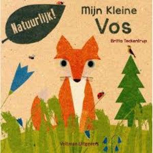 Mijn Kleine vos. Britta Teckentrup 100% gerecycled papier en gedrukt met eco-inkt