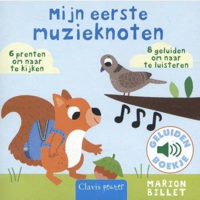 Clavis Mijn eerste muzieknoten - Geluidenboek. Marion Billet