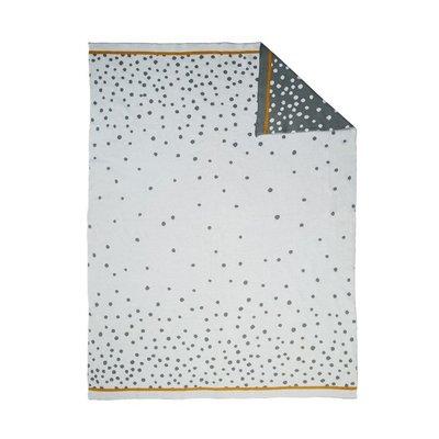 Done by Deer Done by deer babydeken happy dots grey 80x100