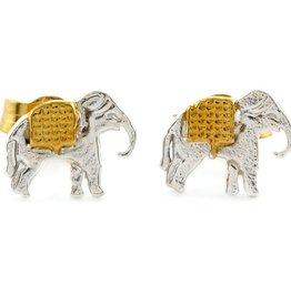 Alex Monroe - Little Elephant Stud Earrings