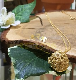 Alex Monroe - Flower Ball Gold Locket