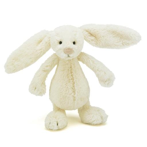 Jellycat - Small Bashful Cream Bunny