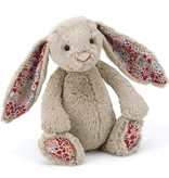 Jellycat - Medium Bashful Blossom Beige Bunny