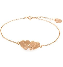 Alex Monroe - Sail Away With Me Rose Gold Bracelet
