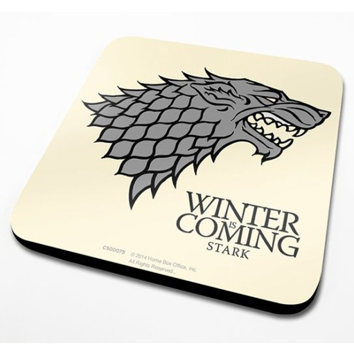 Game of Thrones - House Stark Sigil Coaster
