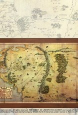 The Hobbit - Map of Middle Earth