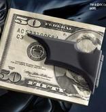 The Dark Knight - Batarang Money Clip Stealth Black