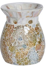 Yankee Candle - Gold & Pearl Crackle Melt Warmer