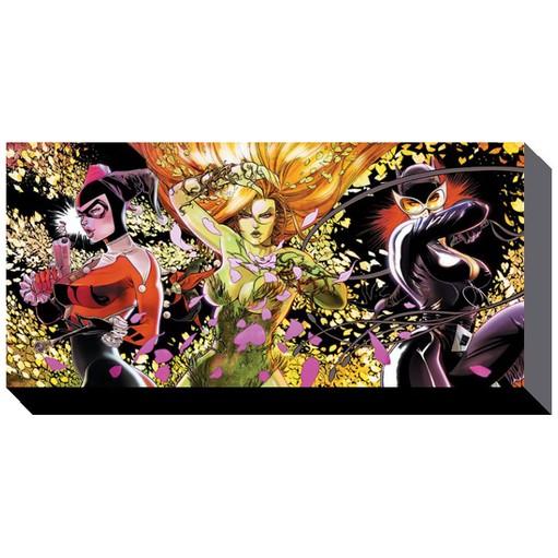 DC Comics - Femme Fatales Canvas Print
