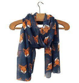 Hola Fox Blue Scarf by House of Disaster