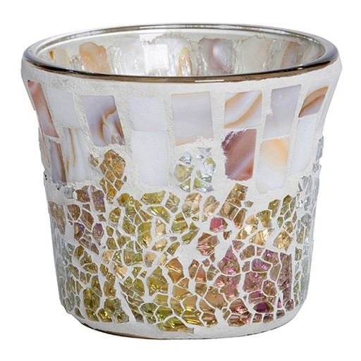 Yankee Candle - Gold & Pearl Crackle Votive Holder