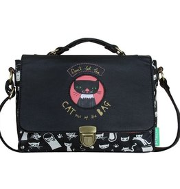 Daydream Cat Bag Satchel by House of Disaster