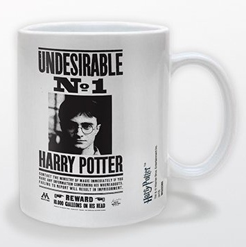 Harry Potter - Undesirable No.1 Poster Mug