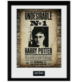Harry Potter - Undesirable No.1 Poster Wall Framed Print