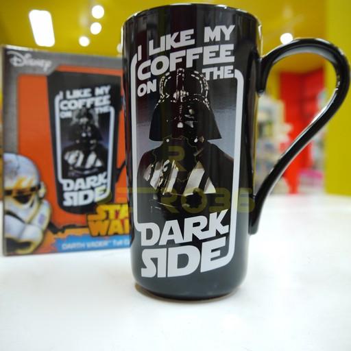 Star Wars - I Like My Coffee on the Dark Side Latte Mug