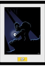 The Simpsons - Homer Gollum Framed Print